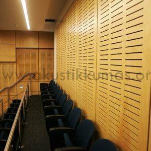 Akustik Ahşap Duvar Paneli